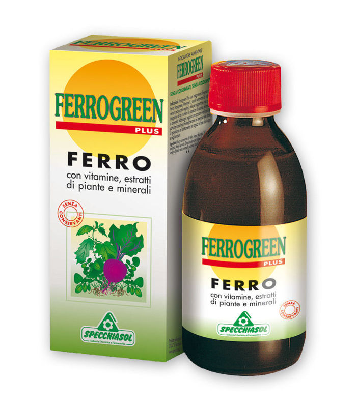 Picture of SPECCHIASOL FERROGREEN SIRUP 170 ML
