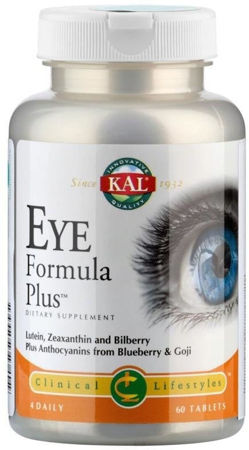 Picture of KAL EYE FORMULA TABLETE 60 KOM