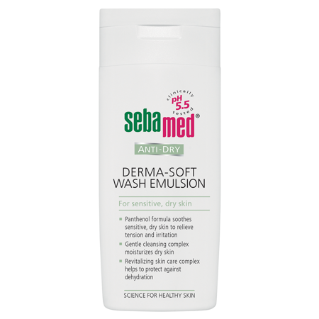 Picture of SEBAMED ANTI DRY DERMA SOFT EMULZIJA ZA PRANJE 200ML