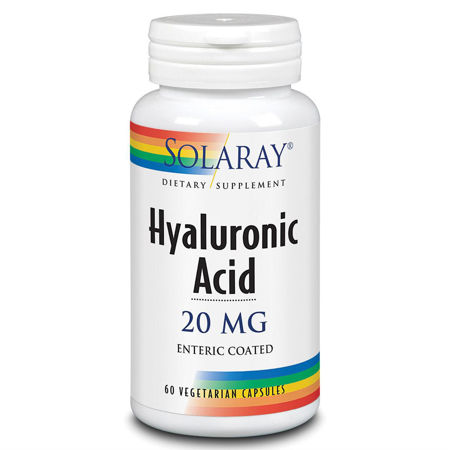 Picture of SOLARAY HYALURONIC ACID 20MG TABLETE 60KOM