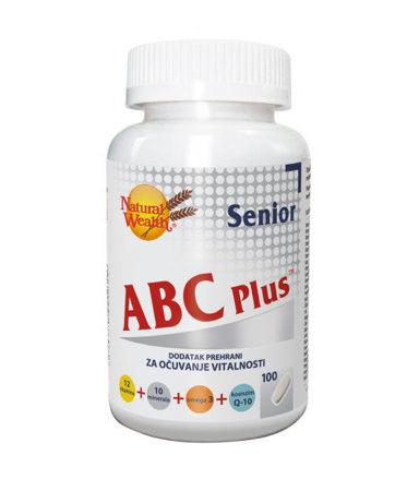 Picture of NATURAL WEALTH  ABC PLUS SENIOR 100 TABLETE