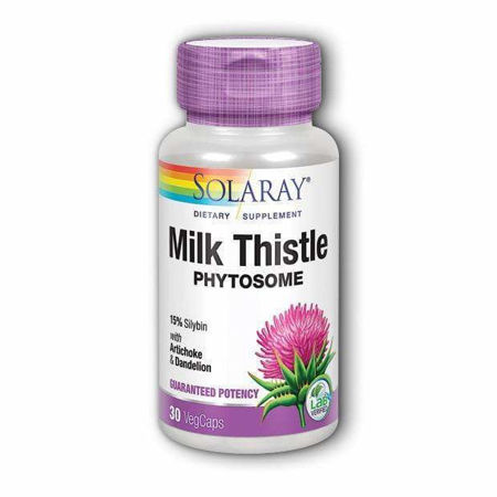 Picture of SOLARAY MILK THISTLE 30 KAPSULA