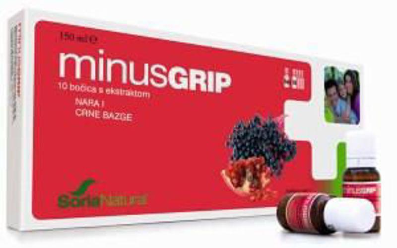 Picture of SORIA MINUSGRIP AMPULE 15 ML 10 KOM