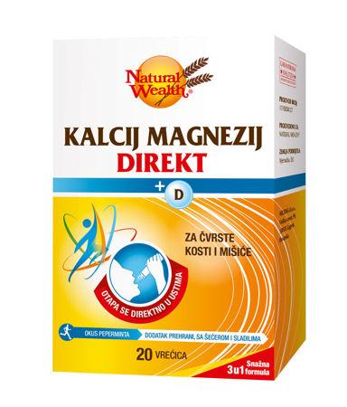 Picture of NATURAL WEALTH KALCIJ MAGNEZIJ DIREKT+D