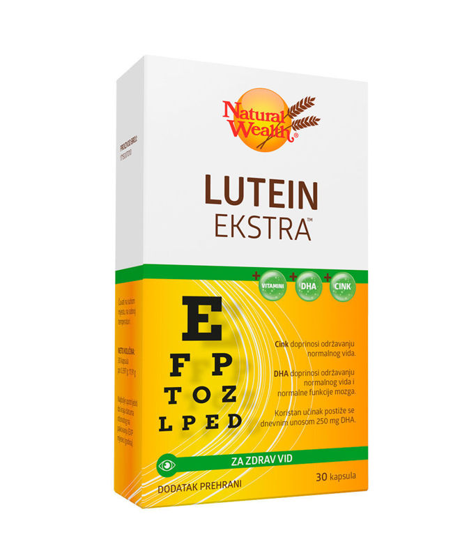 Picture of NATURAL WEALTH LUTEIN EKSTRA
