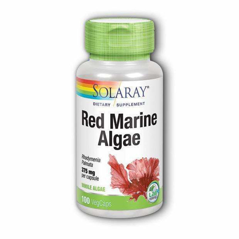 Picture of SOLARAY RED MARINE ALGAE 100 KAPSULA