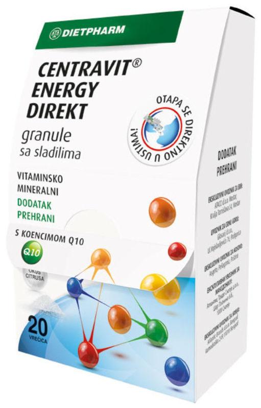 Picture of CENTRAVIT ENERGY DIREKT GRANULE 20 KOMADA