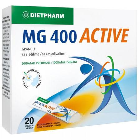 Picture of MAGNEZIJ 400 ACTIVE GRANULE 20 KOMADA