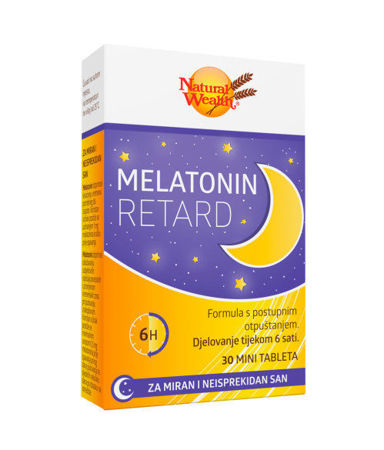 Picture of NATURAL WEALTH  MELATONIN RETARD 30 TBL