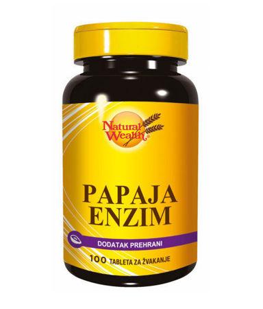 Picture of NATURAL WEALTH  PAPAJA ENZIM  TBL 100 KOM