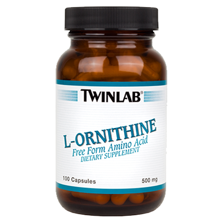 Picture of TWINLAB L-ORNITIN KAPSULE 100X500 MG