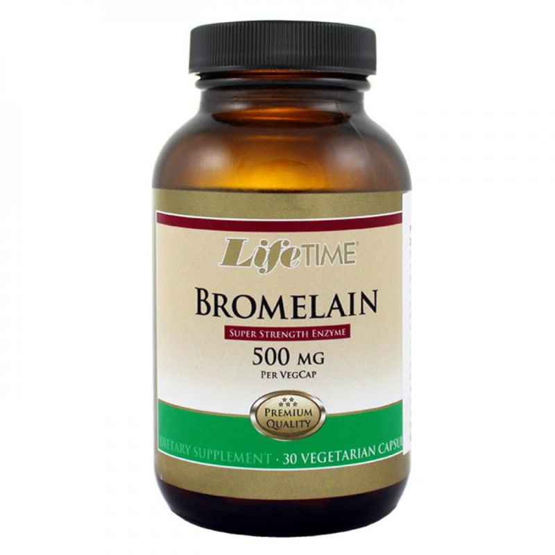 Picture of LifeTime BROMELAIN KAPSULE 30X500 MG