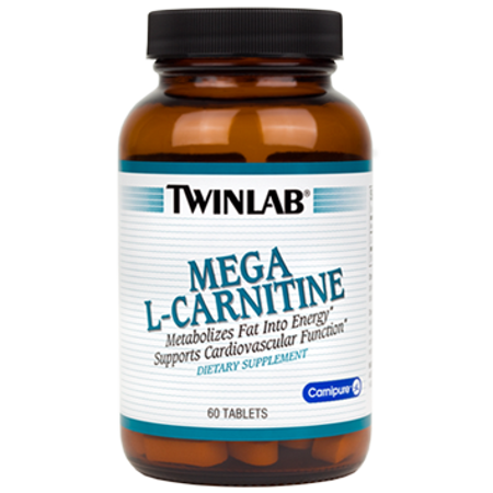 Picture of TWINLAB MEGA L-KARNITIN 60X500MG