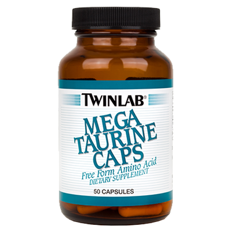 Picture of TWINLAB MEGA TAURINE CAPS 50X1000 MG
