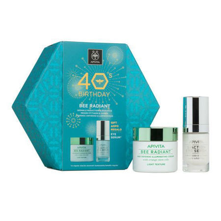Picture of APIVITA SET BEE RADIANT LAGANA KREMA+SERUM 5ACTION