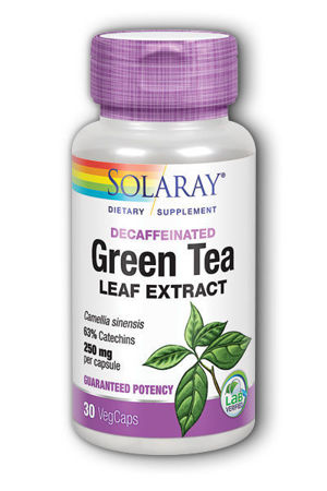 Picture of SOLARAY GREEN TEA EXTRACT KAPSULE 30 KOM