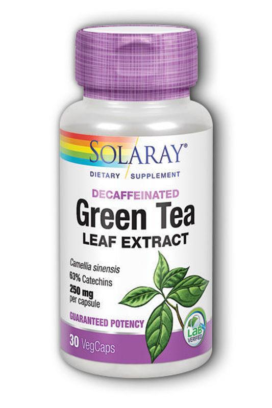 Picture of SOLARAY GREEN TEA EXTRACT KAPSULE 30 KOM