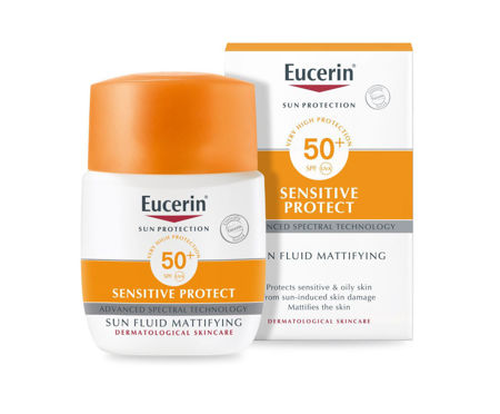 Picture of EUCERIN 63840 SUN FLUID MATT SPF-50+50ML