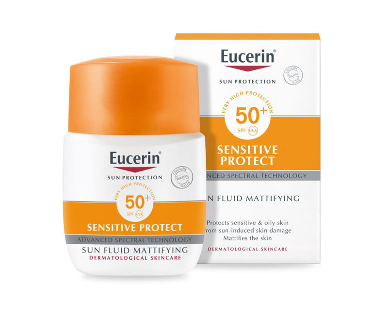 Picture of EUCERIN 63840 SUN FLUID MATT SPF-50+50ML