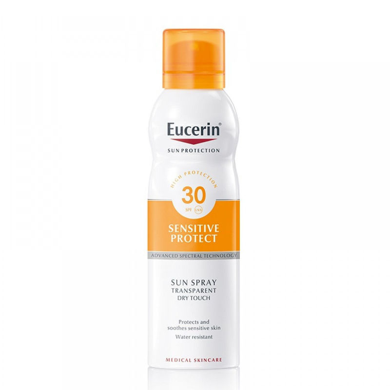 Picture of EUCERIN 69759 SUN SENSITIVE PROTECT DRY TOUCH SPREJ SPF30 200ML