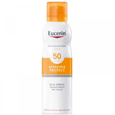 Picture of EUCERIN 69758 SUN SENSITIVE PROTECT DRY TOUCH SPREJ SPF-50 200ML
