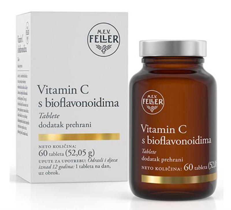 Picture of FELLER VITAMIN C BIOFLAVONOIDI 60 TABLETA