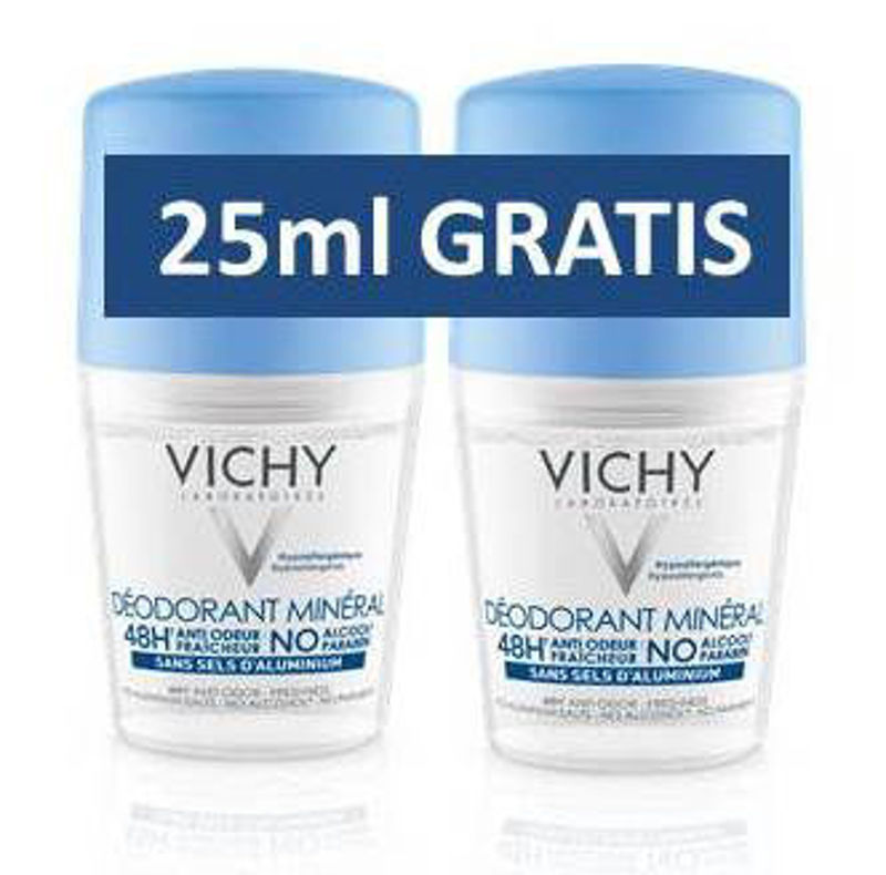 Picture of VICHY DEO ROLL ON MINERAL DUO