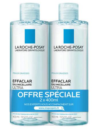 Picture of LA ROCHE POSAY EFFACLAR ULTRA MICELARNA VODA 400 ML 1+1 GRATIS