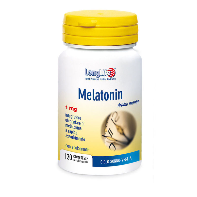 Picture of LongLife MELATONIN 1MG 120TBL