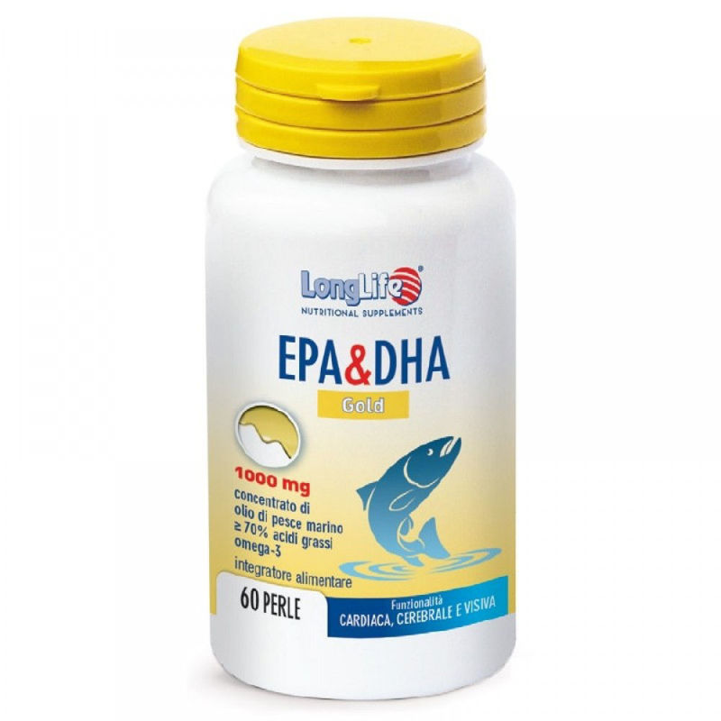 Picture of LongLife EPA & DHA GOLD 60 CAPS