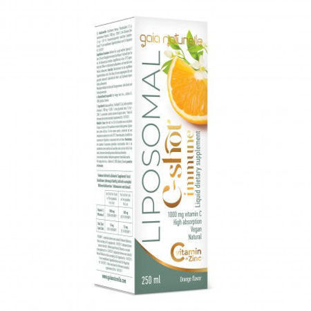 Picture of GAIA Vitamin C 1000 mg + cink liposomalni