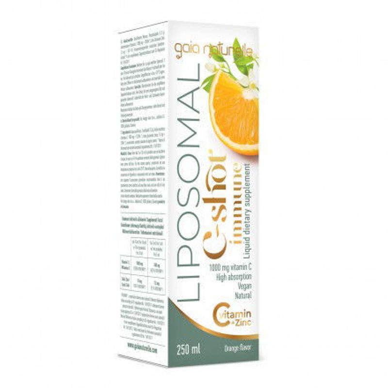 Picture of GAIA Vitamin C 1000 mg + cink liposomalni