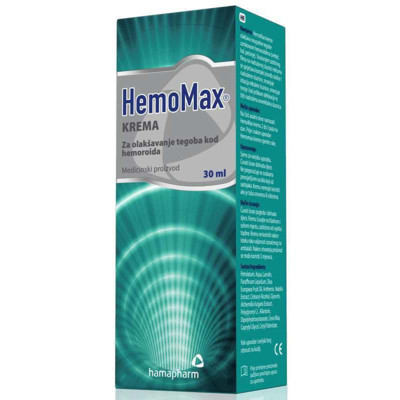 Picture of HEMOMAX KREMA 30 ML