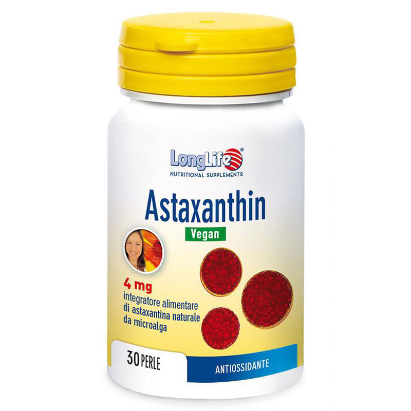 Picture of LongLife ASTAXANTIN VEGAN PERLE 30X40 MG