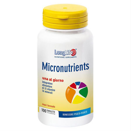 Picture of LongLife MICRONUTRIENTS 100 TABLETA