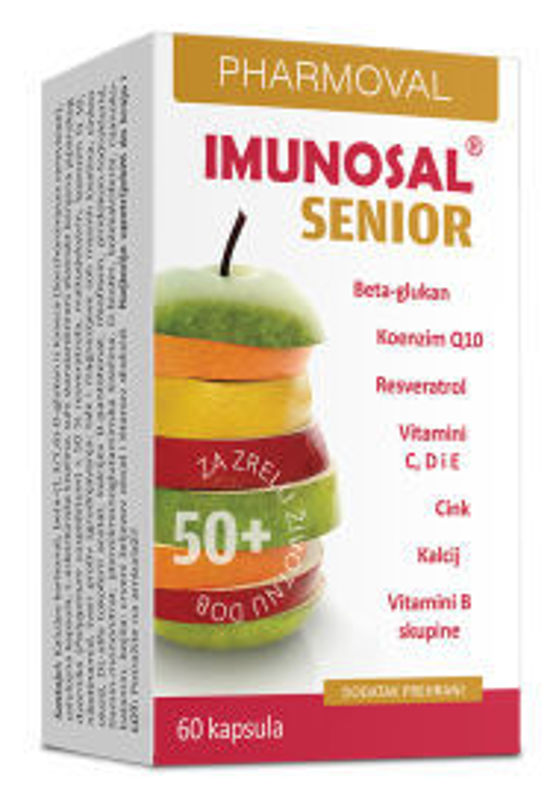 Picture of IMUNOSAL SENIOR 60 CAPS