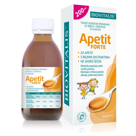 Picture of BIOVITALIS APETIT FORTE SIRUP 200 ML