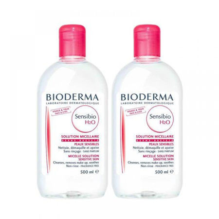 Picture of BIODERMA SENSIBIO MICELARNA OTOPINA H2O 2X500ML