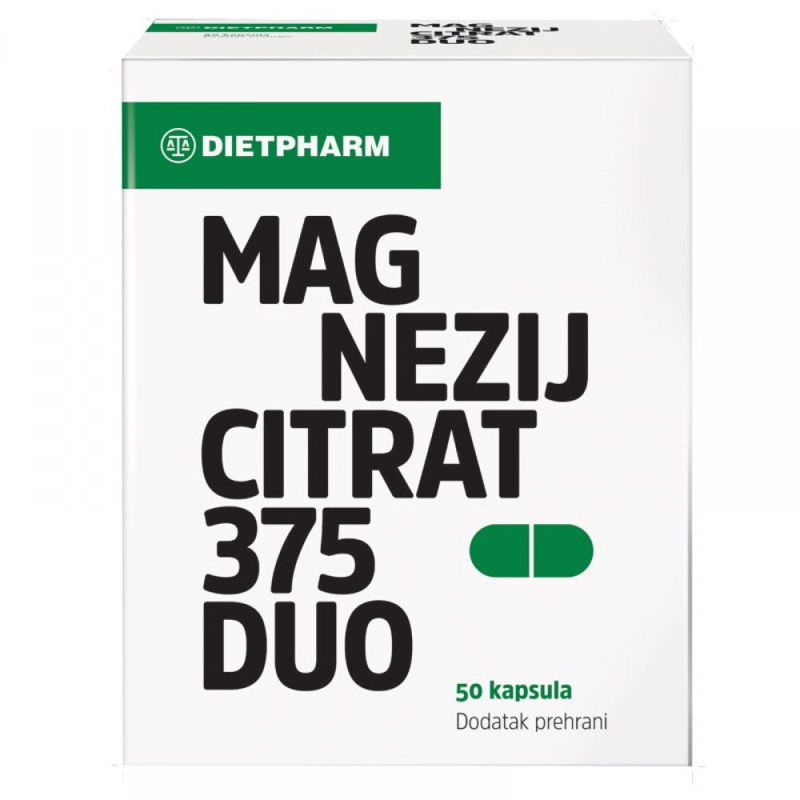 Picture of MAGNEZIJ CITRAT 375 DUO KAPSULE 50 KOMADA