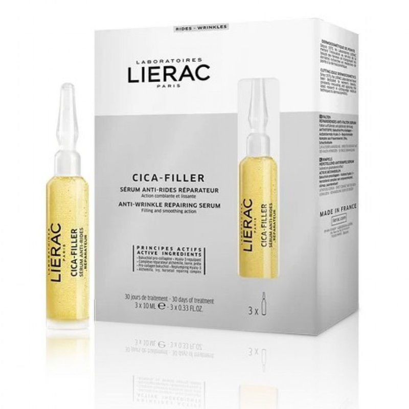 Picture of LIERAC CICA FILLER OBNAVLJAJUĆI SERUM PROTIV BORA 3×10ML