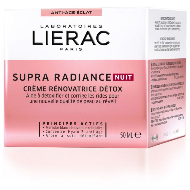 Picture of LIERAC SUPRA RADIANCE NOĆNA DETOX KREMA 50ML