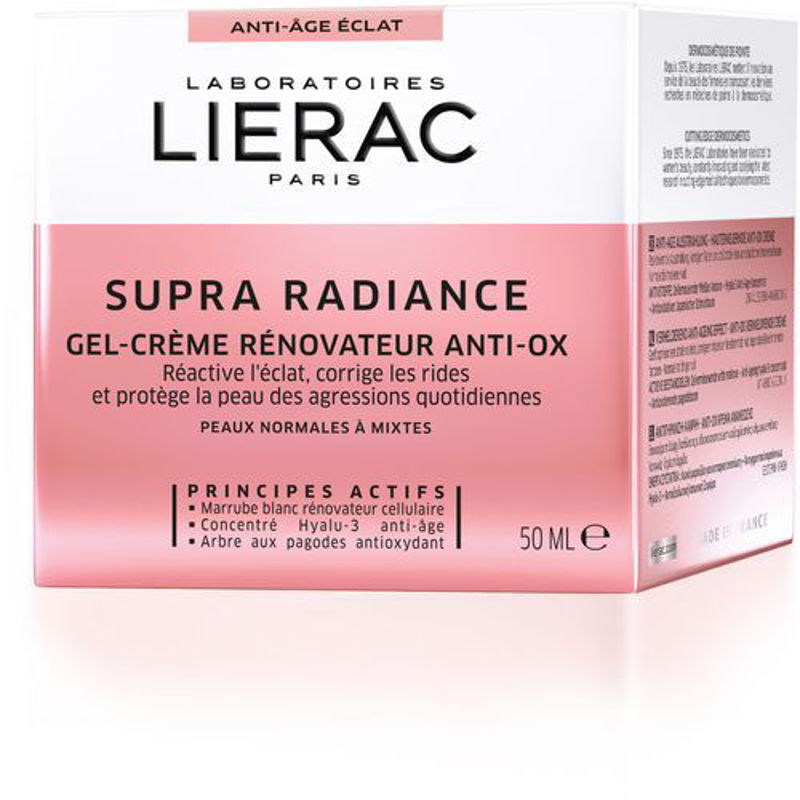 Picture of LIERAC SUPRA RADIANCE ANTIOXIDATIVNA GEL KREMA  50ML