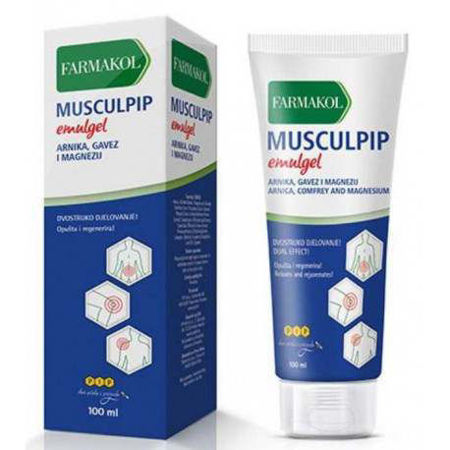 Picture of FARMAKOL MUSCULPIP EMULGEL 100 ML