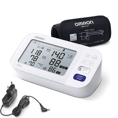 Picture of OMRON M6 COMFORT tlakomjer + adapter