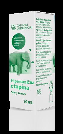 Picture of GALENSKI LABORATORIJ HIPERTONIČNA OTOPINA SPREJ ZA NOS 20ML