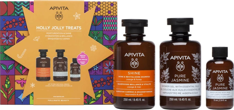 Picture of APIVITA SET 2020 HOLLY JOLLY TREATS