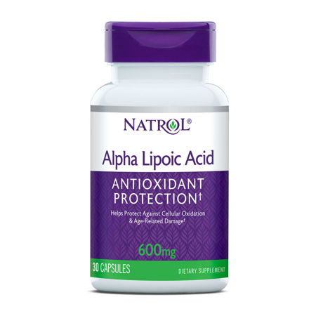 Picture of NATROL ALPHA LIPOIC ACID TBL 45X600 MG