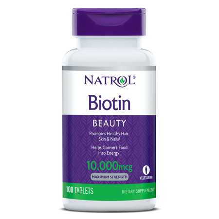 Picture of NATROL BIOTIN TBL 100 x 1000 MCG
