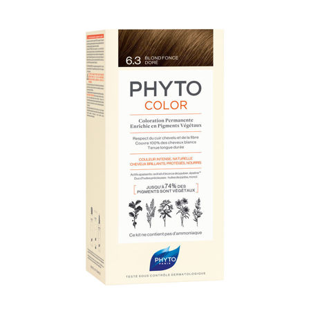 Picture of PHYTO COLOR BR 6.3 ZLATNO TAMNO PLAVA