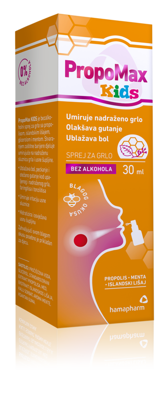 Picture of HAMAPHARM PROPOMAX KIDS sprej 30 ml